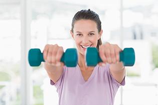 Regelmessig trening er bra for benmassen